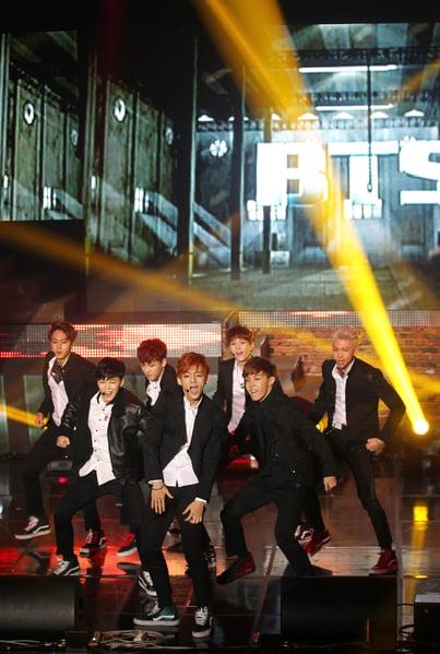 南韓人氣男團防彈少年團(BTS)資料照。(一念間電影有限公司提供)