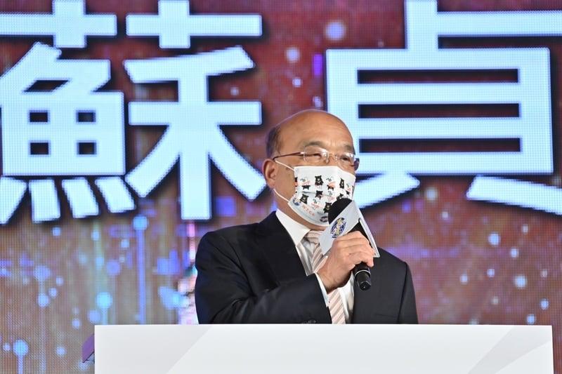 蘇貞昌:台灣多日本土零確診是亂世中的福地