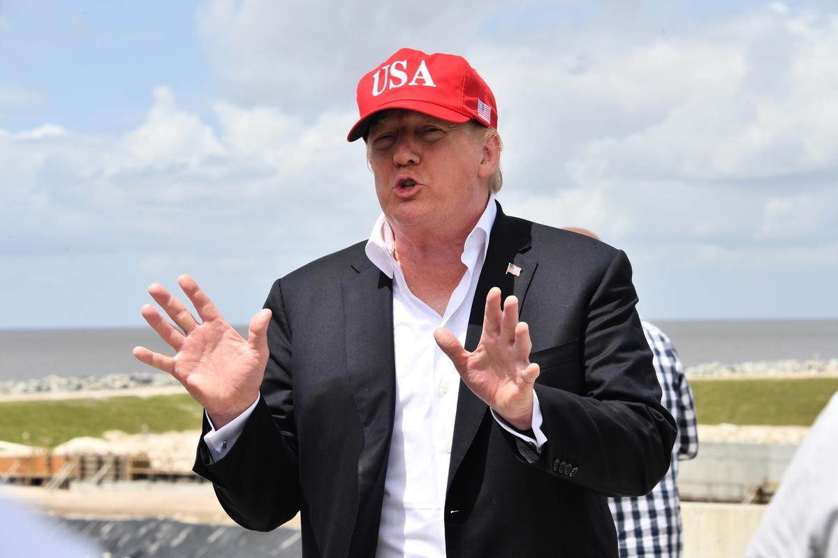 周五(3月29日),為期2天的美中最新一輪面對面貿易談判在北京落幕,美國總統特朗普在佛州表示,與中方的貿易談判進展順利,但他同時警告,他不會接受任何不夠好的協議。(Nicholas Kamm / AFP)
