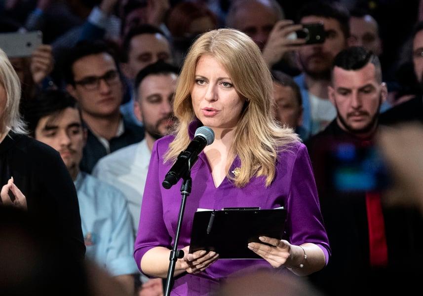斯洛伐克大選 反腐律師成首位女總統