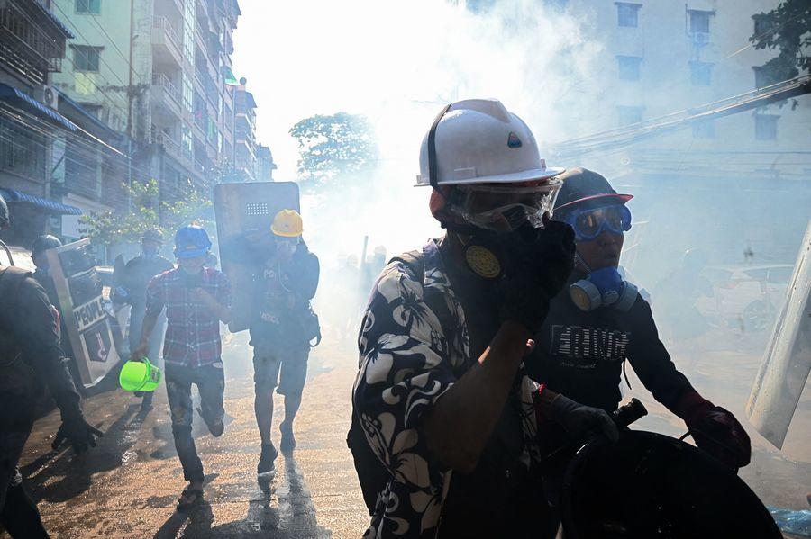 美制裁緬軍頭目子女 緬甸示威再添八死