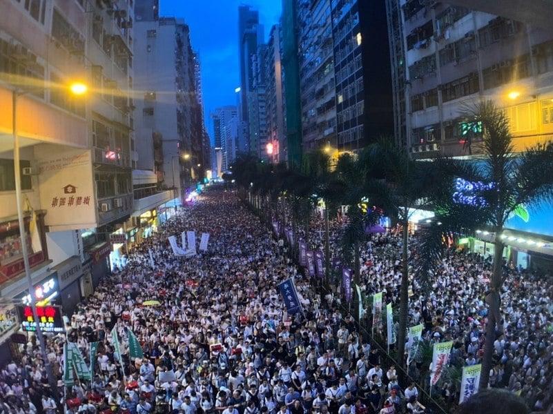 中共推送中惡法 專家:香港會失去更多外商