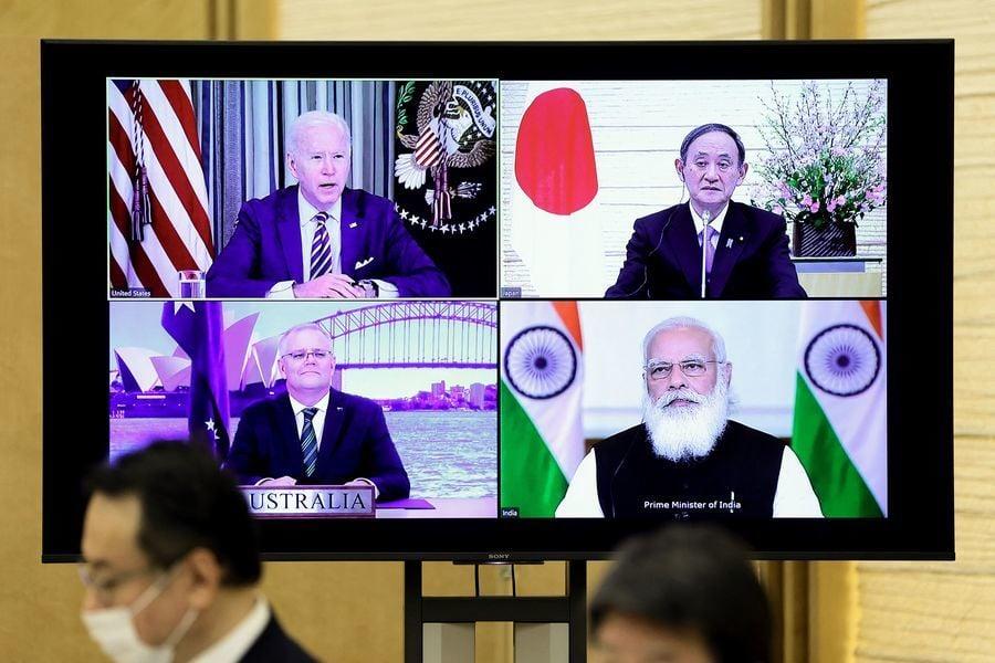美日澳印峰會 強調打造自由安全的印太地區