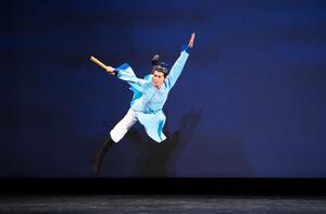 【圖攝】第九屆中國舞歐美初賽少年男子組風采