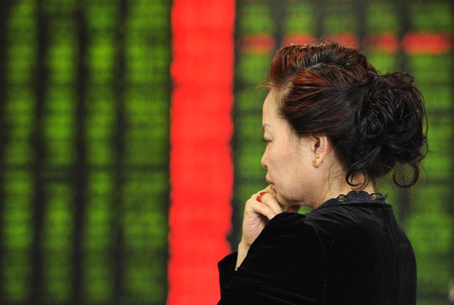 中國A股大幅下跌 下周走勢不容樂觀