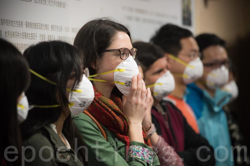 一種可重複使用、並對抗病毒的新型N95口罩有望聖誕節前上市。(陳柏州 /大紀元)