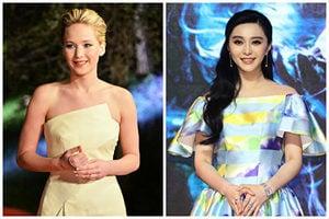 全球十大高收入女星 珍妮花羅倫絲稱冠 范冰冰第五