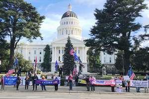 北加州民眾繼續州府集會 反對竊選