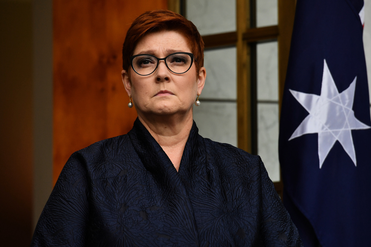 澳洲外交部長佩恩(Marise Payne)將在未來兩周內出訪英國、瑞士和美國。(Sam Mooy/Getty Images)