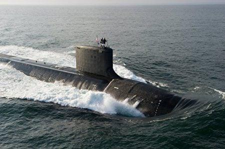 維珍尼亞級攻擊潛艇。(維基百科)