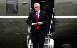 白宮幕僚長:特朗普正考慮簽署對華行政令