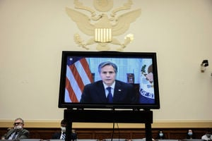 布林肯國會作證 為美國撤離阿富汗行動辯護