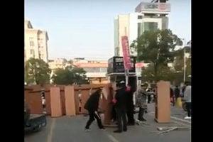 【現場影片】黃岡蘄春剛剛解封 多處又封了