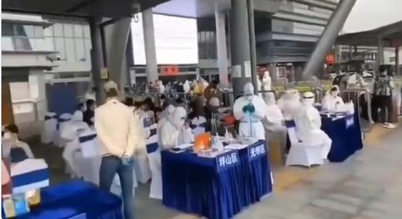 【現場影片】回深圳的人會被排查檢測