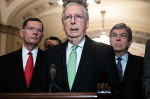 麥康奈爾:眾院彈劾是政治決策 無公正可言
