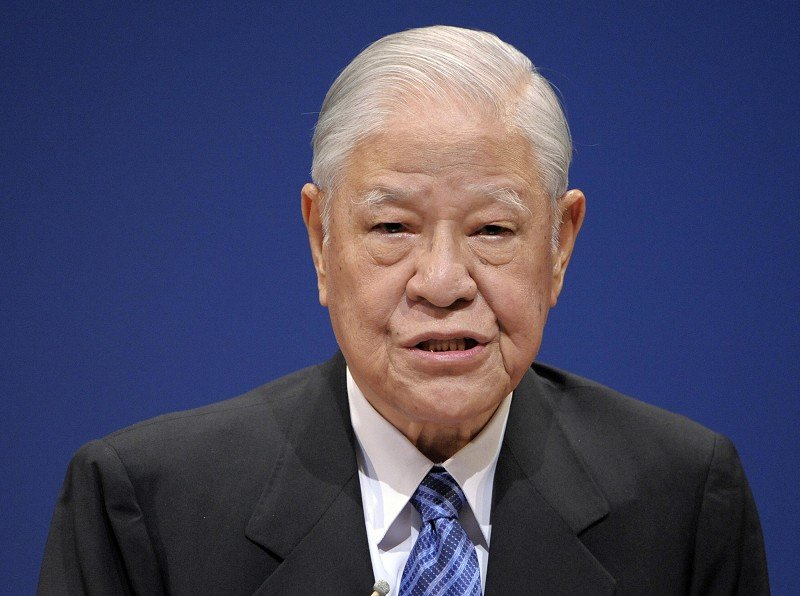 台灣前總統李登輝。(TOSHIFUMI KITAMURA/AFP/Getty Images)