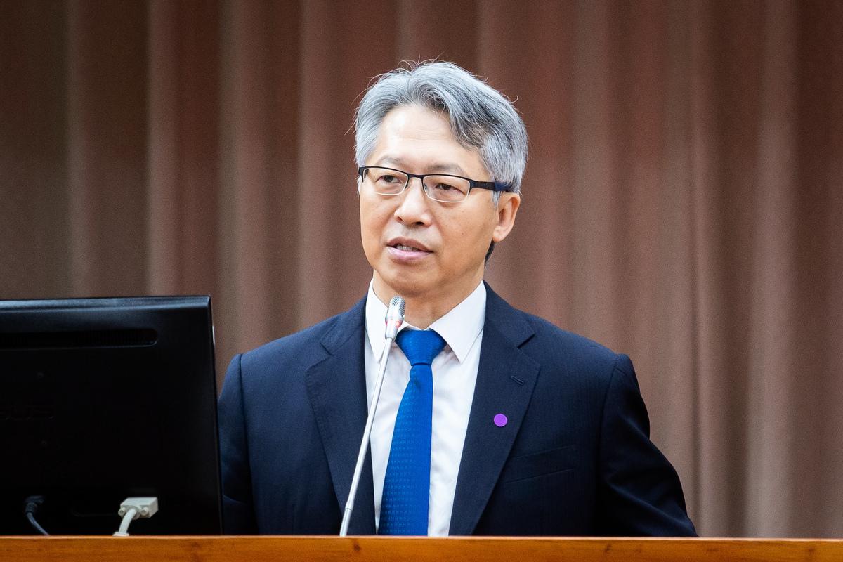 台灣中研院院長廖俊智表示,此次會議不僅聚焦於快篩的合作,也討論了幾個研究面向。(陳柏州/大紀元)