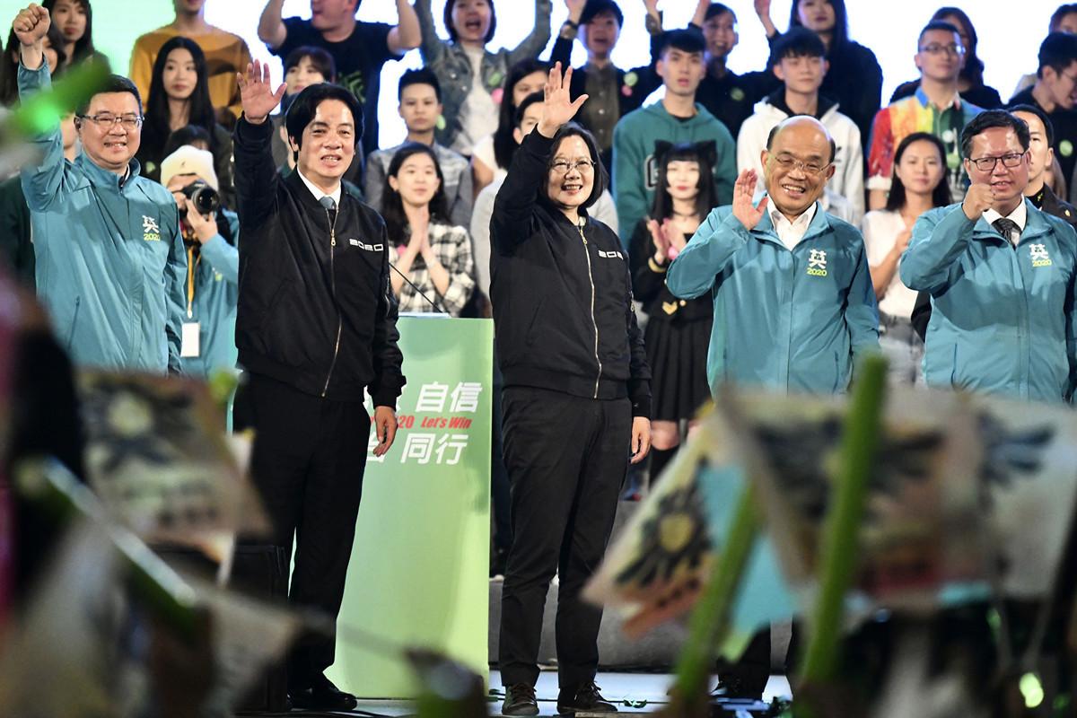 台灣官員擔心,台灣如果不謹慎對待中共干預,台灣未來將不會再有民主選舉。(Sam Yeh / AFP)