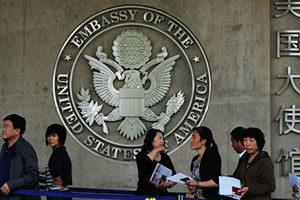 廢十年美簽施壓中共 參議員提簽證安全法