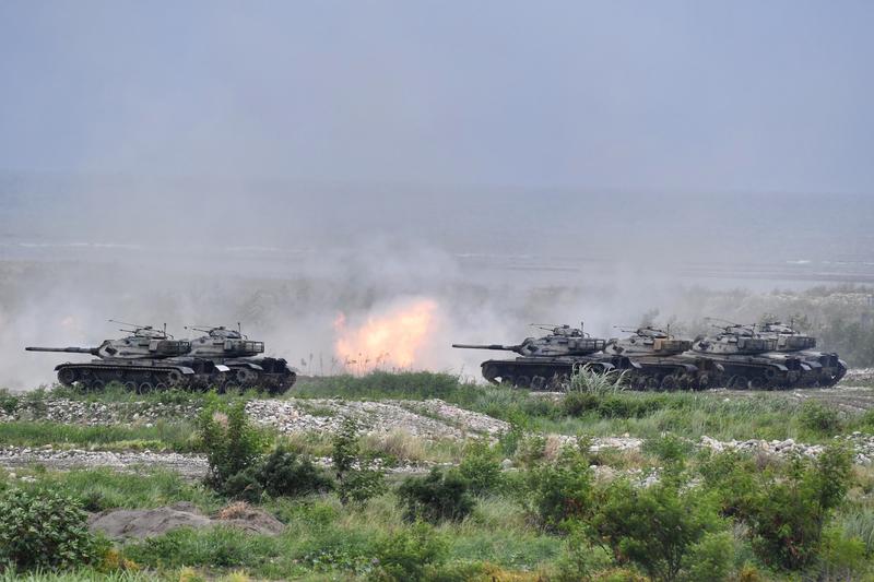 回應中共奪島演習 台東沙島12月火炮射擊