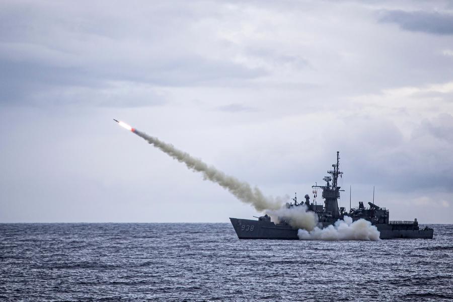 特朗普政府軍售台灣 對中共展開「刺蝟」戰略