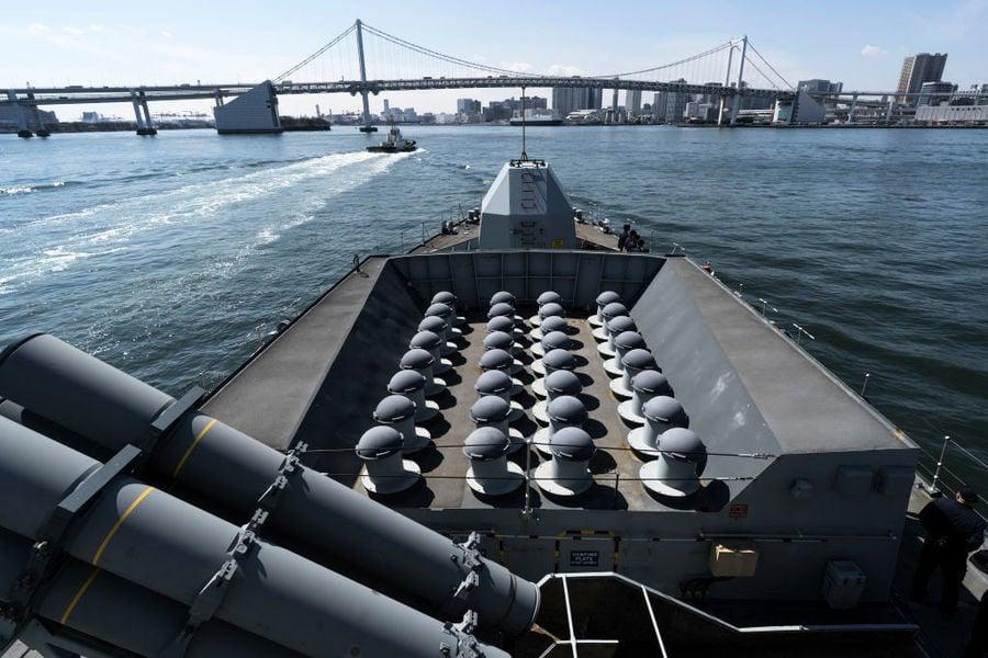 日本擬聯合印尼造新型護衛艦 阻中共南海擴張