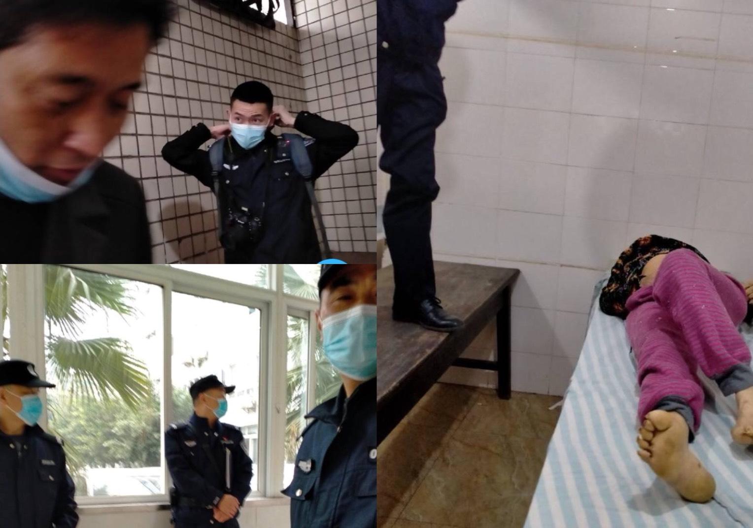 四川省成都市新津區遭強拆戶唐春蓉,2018年12月與母親王學英到北京上訪,被鎮政府截回後送進醫院軟禁至今。18日早上,她發現母親突然死亡,她打110報警。當天王學英的遺體就被政府偷走了,至今下落不明。