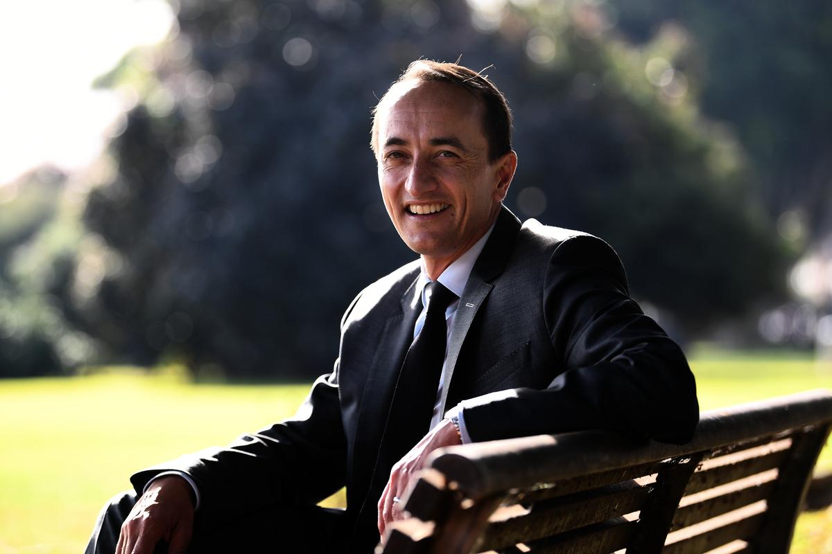 圖為澳洲自由黨議員、前駐以色列大使沙馬(Dave Sharma)。 (AAP Image/Dean Lewins)
