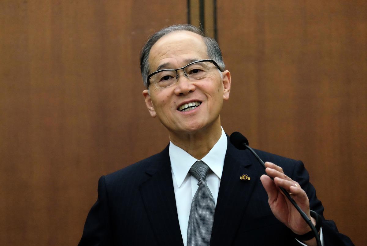 中華民國外交部5月25日發表一份聲明說,國家安全會議秘書長李大維(David Lee,如圖)於5月13至21日訪美,期間與美國國家安全顧問博爾頓(John Bolton)舉行了會晤。(SAM YEH/AFP/Getty Images)