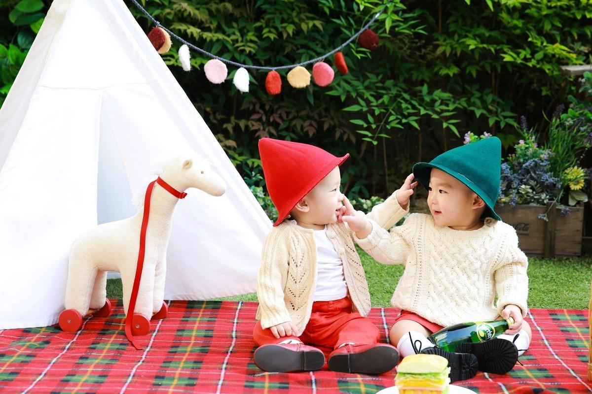 全世界每年大約有160萬對雙胞胎出生,每42個媽媽中就有一個生雙胞胎。(Pixabay)