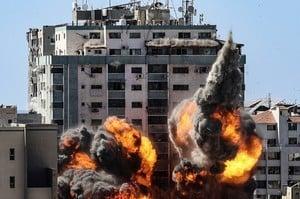 【以巴衝突】加沙媒體大樓被炸 布林肯指已獲更多情報