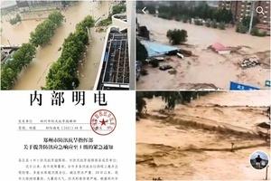 【一線採訪】河南鞏義汝州大暴雨 通訊中斷 (多片)