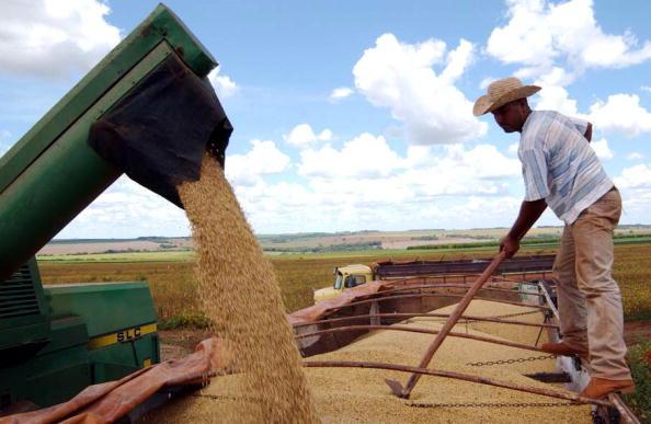 中美貿易戰中,特朗普政府不斷為農民提供更多援助。(Scott Olson/Getty Images)