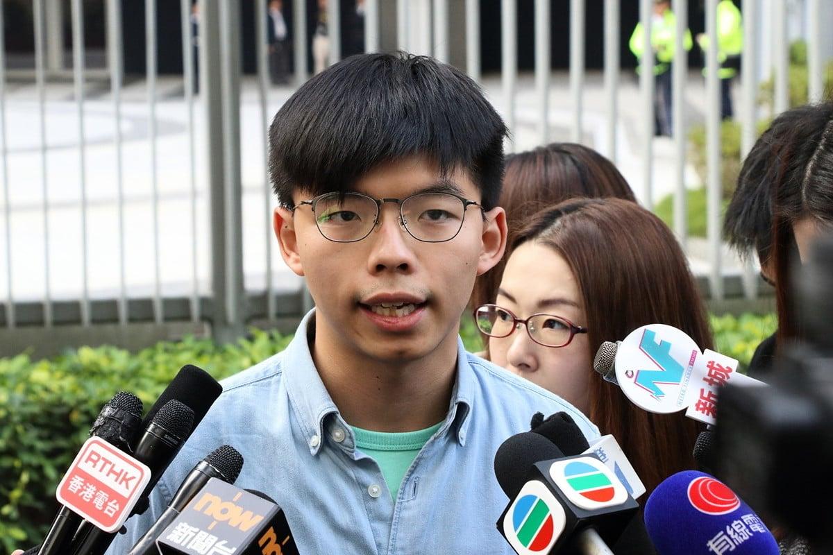 香港眾志秘書長黃之鋒。圖為資料照。(蔡雯文/大紀元)
