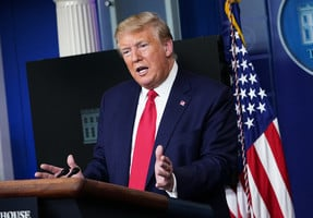 特朗普暗示中共瞞疫有後果 美國會釀抗共策略