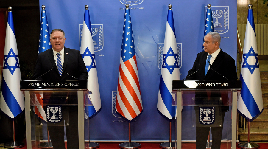 蓬佩奧抵達以色列 開啟五天中東行
