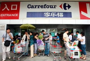 家樂福撤出中國 揭示外資零售業正面臨困境
