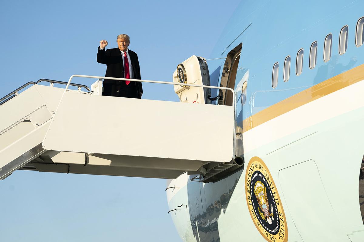 美國總統特朗普過去4年向世界明確傳達,只有對中共強硬、不妥協,才有辦法改變世界。(白宮Flicker)
