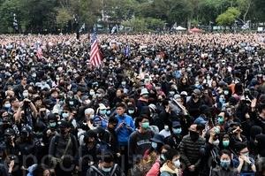 【1.1反暴政直播】逾103萬港人元旦大遊行