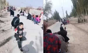 中共肺炎疫情升溫 新疆喀什4地列高風險區