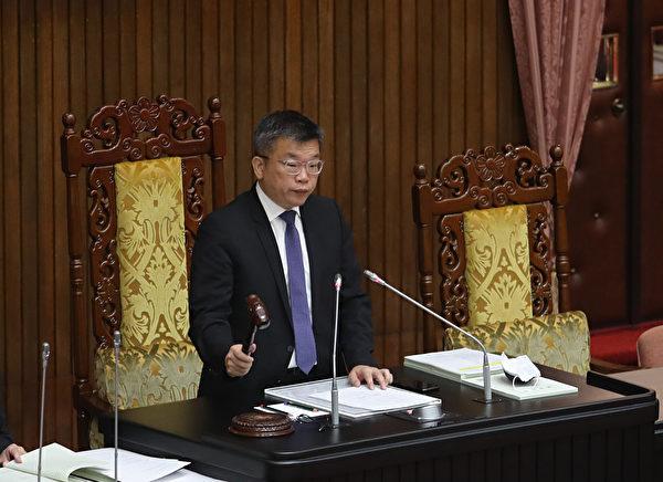 中華民國立法院副院長蔡其昌。(中央社)