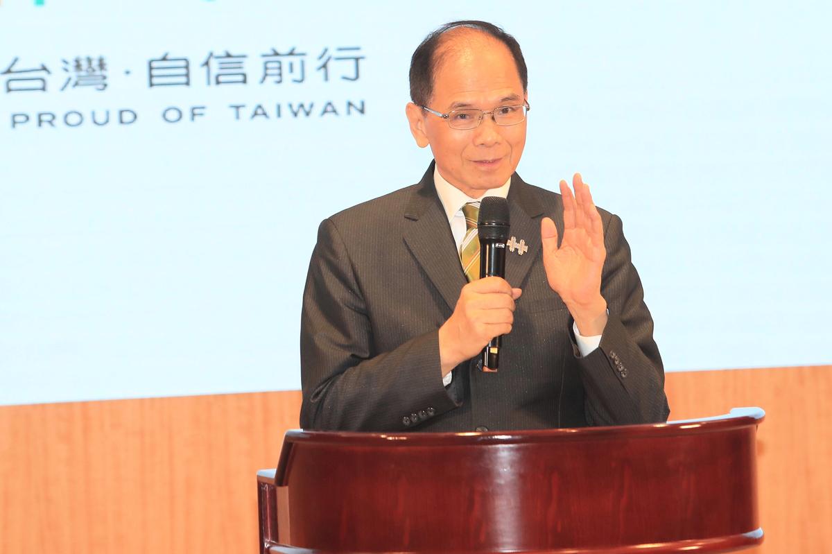 立法院長游錫堃強調,中共病毒是人類大浩劫,還好有台灣抗疫被視為典範,讓中共無法醜化民主政治。(中央社)
