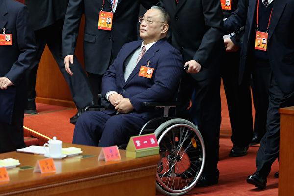 鄧小平長子鄧樸方在文革中跳樓導致終身癱瘓。(Feng Li/Getty Images)