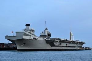 台海局勢緊張 英航母將訪印太和逾10國軍演