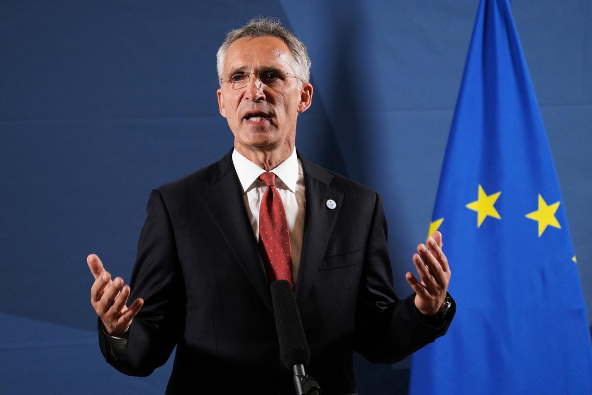 北約秘書長斯托爾滕貝格(Jens Stoltenberg)表示,各國聯合起來直面中共的惡劣行為是非常重要的。(Sean Gallup/Getty Images)