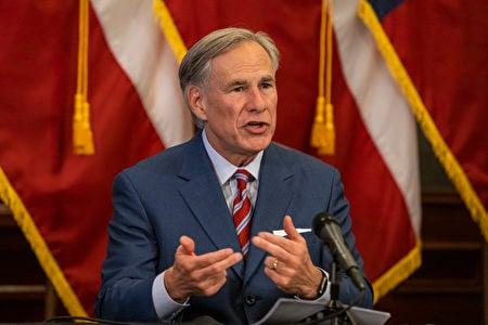 德州州長格雷格‧阿伯特(Greg Abbott)資料照。(Lynda M. Gonzalez-Pool/Getty Images)