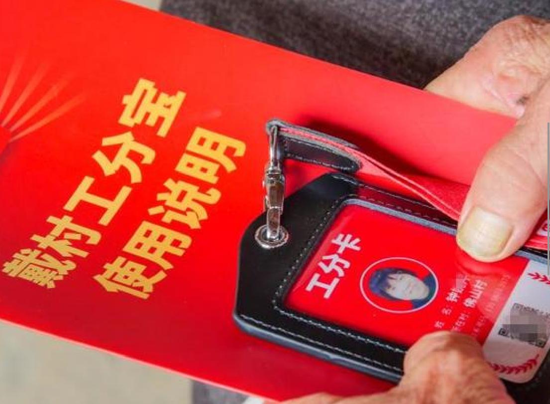 2020年8月9日,杭州市蕭山區戴村鎮工分寶正式上線。(網絡圖片)