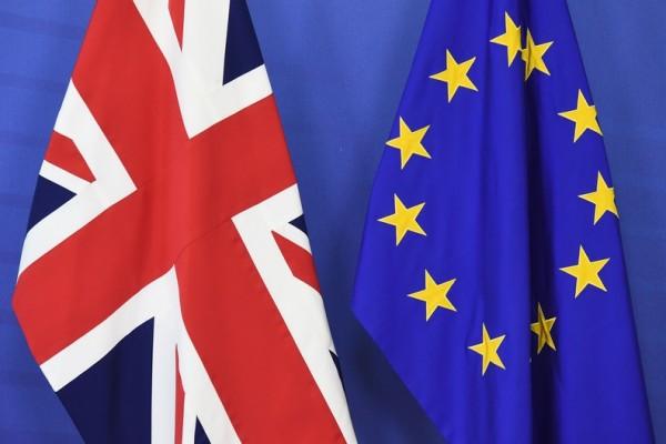 倫敦時間1月31日晚間23時,英國正式脫離加盟47年的歐洲聯盟。(AFP)