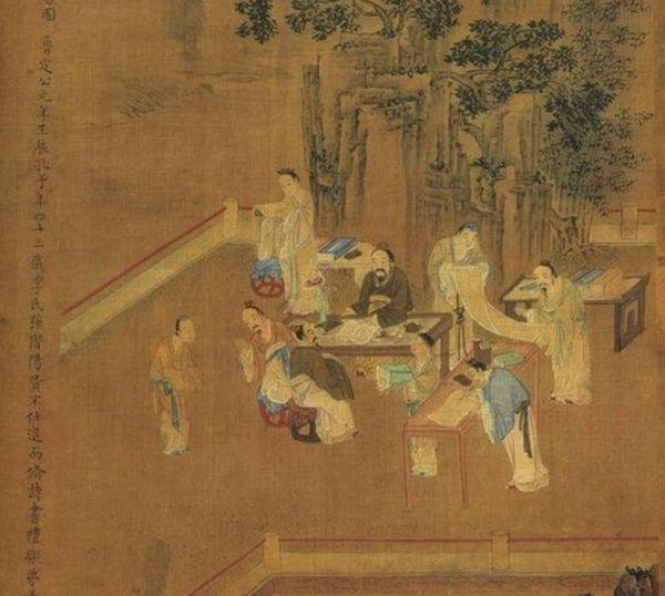 姚樞(1201年~1278年),字公茂,號雪齋、敬齋,諡文獻。(公有領域)