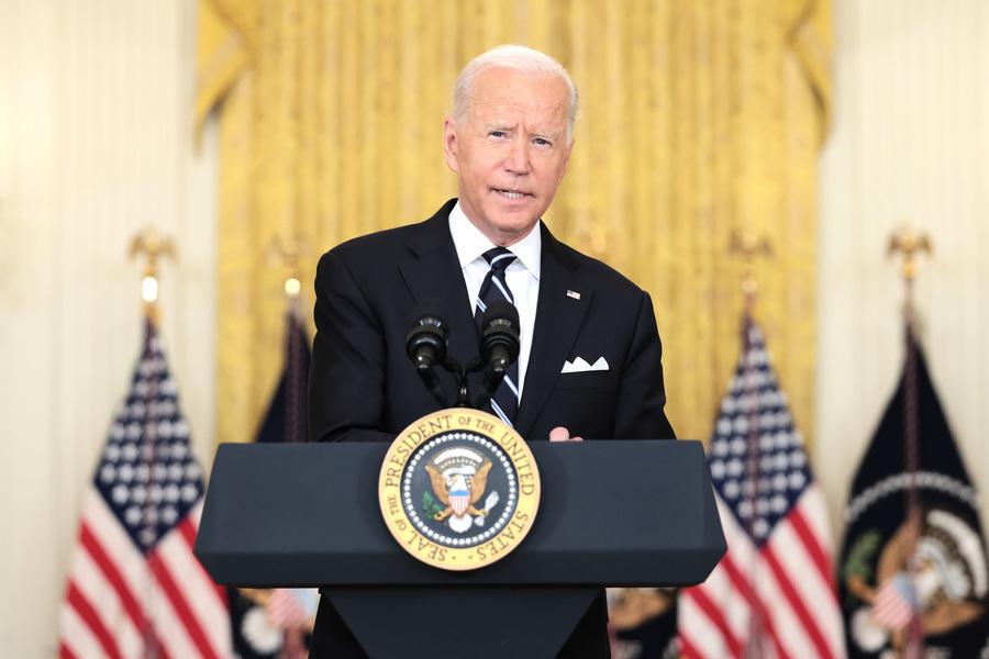 拜登:美軍將留在阿富汗 直到美國人全撤離